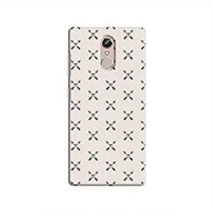 Cover It Up - Crossed Arrows Gionee S6sHard Case