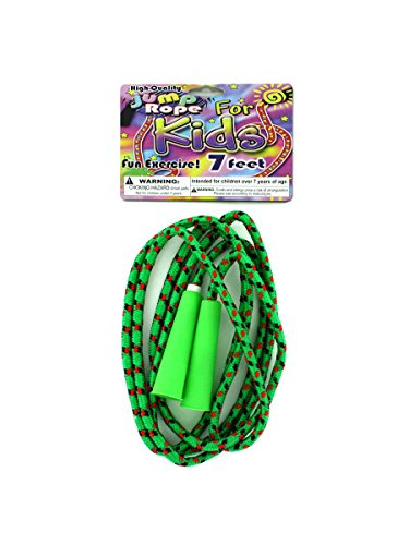 Colorful jump rope, Case of 108 by bulk buys
