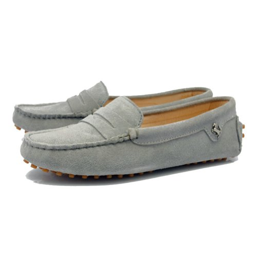 TDA Multi Casual Shoes Running Boat Comfortable outdoor Colored Womens Gray Leather Genuine zrB6Axzqw
