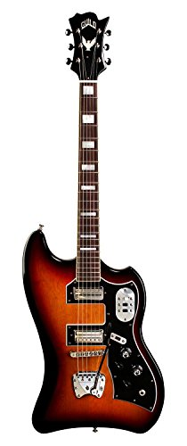Guild S-200 T-Bird Solid Body Electric Guitar with Gig Bag (Antique Burst)