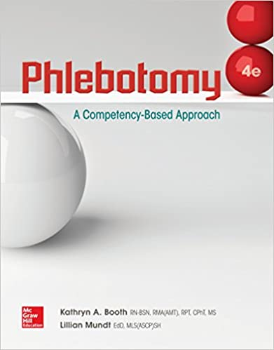 Phlebotomy a competency based approach kathryn a booth lillian phlebotomy a competency based approach 4th edition fandeluxe Gallery