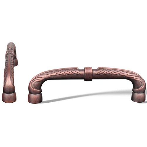Rk International - Distressed Copper Rki Bow Pull W/ Petals And Solid Line (Rkicp863Dc)