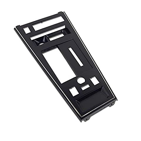 Eckler's Premier Quality Products 25108061 Corvette Shifter Console Trim Plate With Power Windows Defroster & Power (Corvette Shifter)