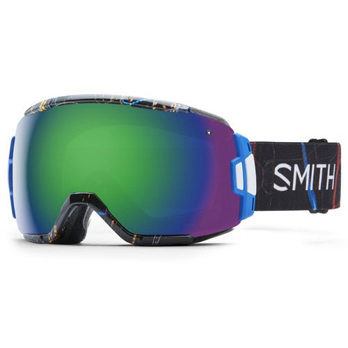 Smith Optics Vice Snow Goggle Exposure with Green Sol-X Mirror - Vice Goggles 2016 Smith
