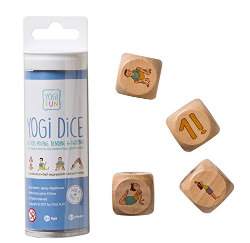 Yogi Fun Kids Yoga Dice Game