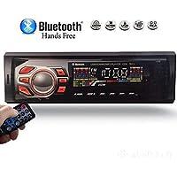 MP3 Player Automotivo 1 Din Bluetooth USB radio para carro fm pen drive cartão