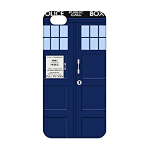 Ultra Thin Doctor Who Tardis 3D Phone Case for iPhone 5s