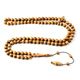 Handcrafted 10mm Blessed Olive Wood Premium Islamic Prayer Beads- INFINITYBEADS by BasmalaBeads- Tesbih- Tasbih- Sibha- Islamic Art