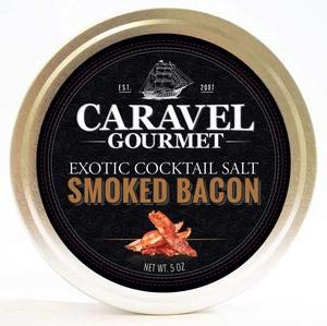 Caravel Gourmet Salt Cccktatil Exotic Smoked Bacon 5.0 OZ (Pack of 6)