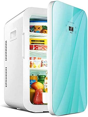 カー寮ホームオフィス冷凍庫のために25リットルのミニ冷蔵庫シングルドアポータブルデュアルコア小型冷蔵庫 (Color : A)