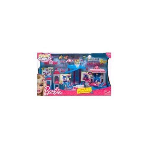 Squinkies Barbie Deluxe 3 in 1 Playset Surprize
