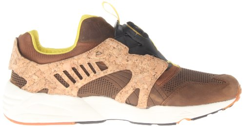 Lux Dachshund PUMA PUMA Mens Mens Sneaker Cage Leather Disc vSzcpR