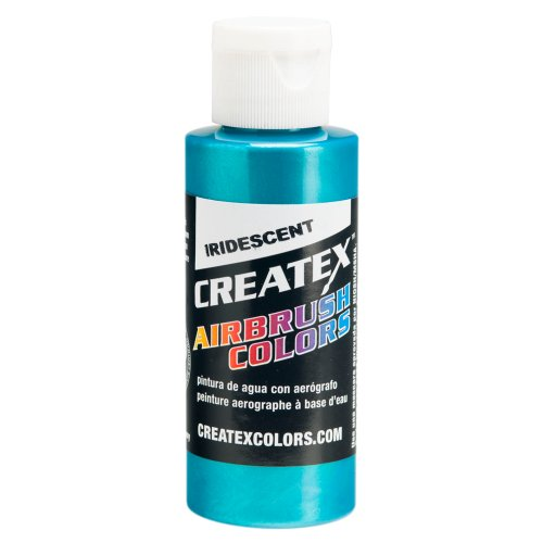 1 Gal. of Createx Iridescent Turquoise #5504 CREATEX AIRBRUSH COLORS Hobby Craft Art PAINT by Createx