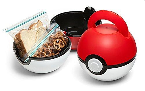 ThinkGeek Pokemon Poké Ball Lunch Box]()