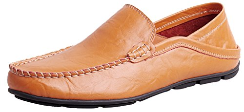 uomo le Brown marrone frange 40 Stivali con CFP qHIwBgvW
