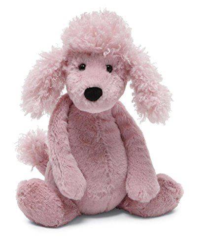 Jellycat Bashful Poodle, Medium, 12 inches