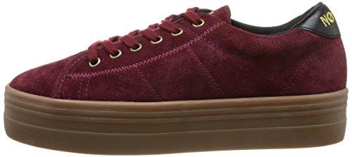 Rosso burgundy rouge Split Donna Plato Sneaker Noname wYxqT8IFvn