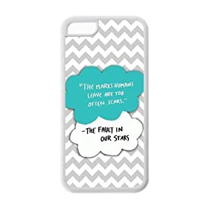 MMZ DIY PHONE CASEThe Fault In Our Stars Okay Durable TPU Case For ipod touch 5 (Black, White)