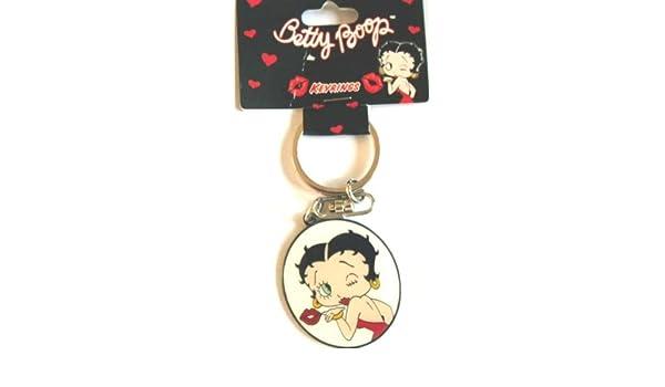 Llavero de Betty Boop, diseño con texto