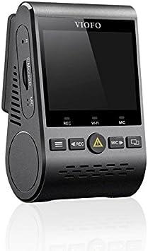 Viofo A129 GPS Dual Lens Dash Cam Full HD 1080P 140 Wide Angle Dashboard Camera w GPS, Low Light Vision G-Sensor