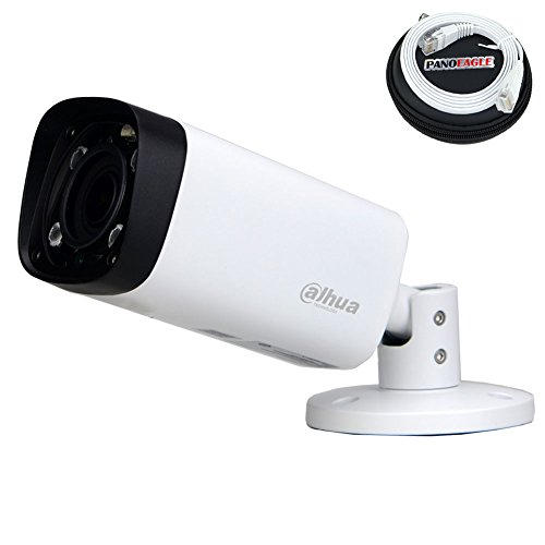 Night Ir Ip Bullet (Dahua 4MP Bullet POE IP Camera IPC-HFW4431R-Z,2.7-12mm Motorized Varifocal Lens Optical Zoom IP67 IR Day and Night Outdoor Security Surveillance Camera H.264/H.265 ONVIF( 1M PANOEAGLE Cable Included ))