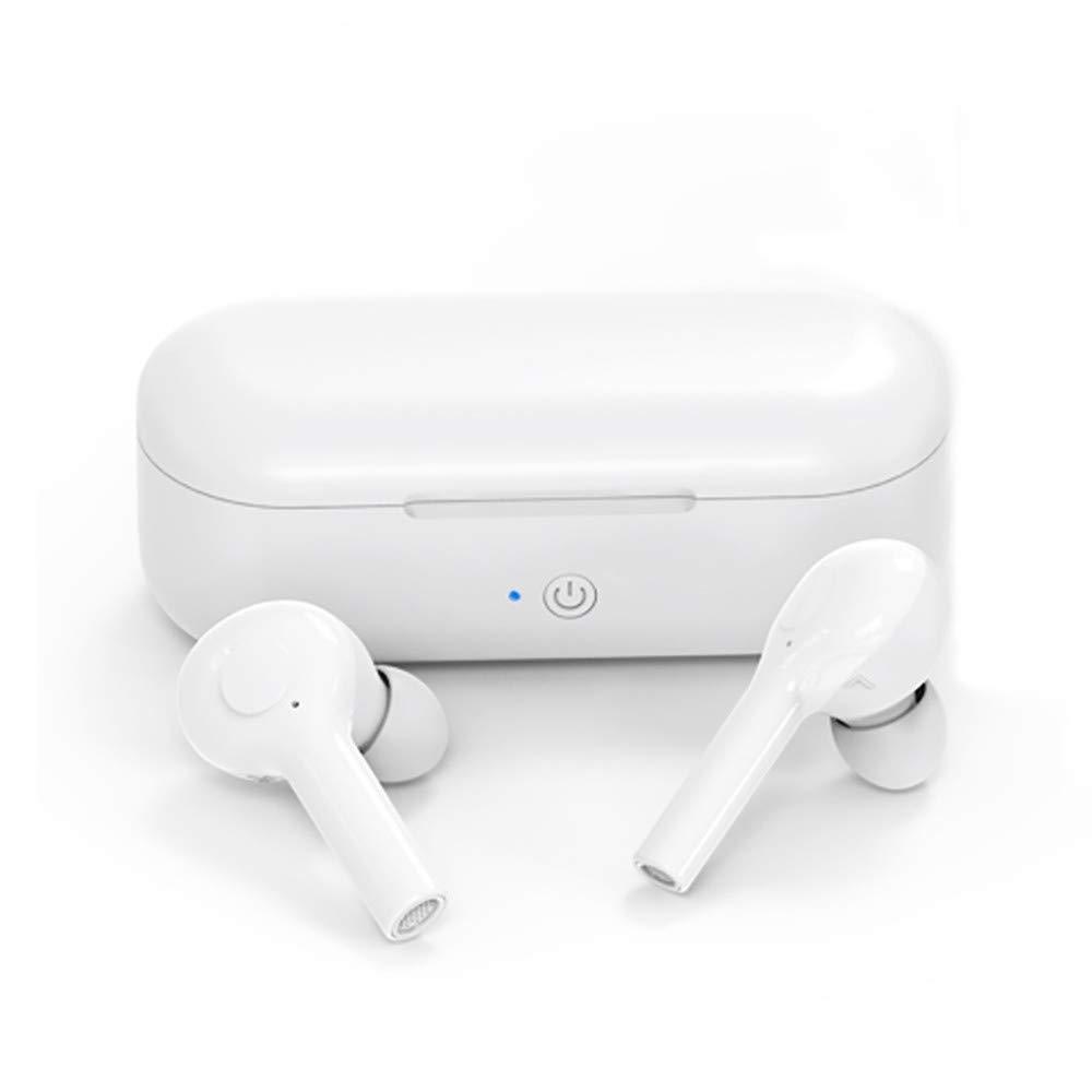 Waterproof Headphones,Wireless Bluetooth Airbuds Earbuds in-Ear Headphones Stereo Sports Sweatproof,Telephone Accessories,White