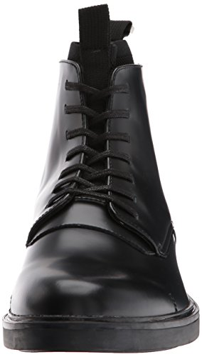 real cheap footlocker pictures Calvin Klein Men's Devlin Box Leather/Knit Boot Black discount 2014 newest latest collections cheap price cheap discount authentic rFOsKnx