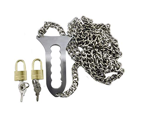 Female Stainless Steel Chain Stealth Chastity Belt Chastity Lock Virginity Chastity Device Adult Game Sex Toy A188 by Fresh -house