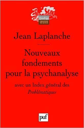 En ligne Nouveaux fondements pour la psychanalyse : La séduction originaire pdf, epub ebook