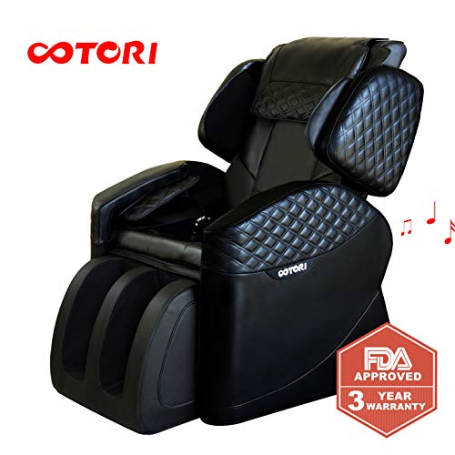 Massage Chairs & Recliner Faux Leather w/Full Body,Zero Gravity, w/Remote Control, Heat & Vibration Modes, (Best Massage Musics)