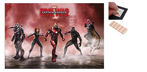 Bundle - 2 Items - Captain America Civil War Team Iron Man P