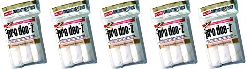 9 0.375 Cover (Wooster Brush RR723-9 Pro/Doo-Z Roller Cover 3/8-Inch Nap, 9-Inch (5-Pack))