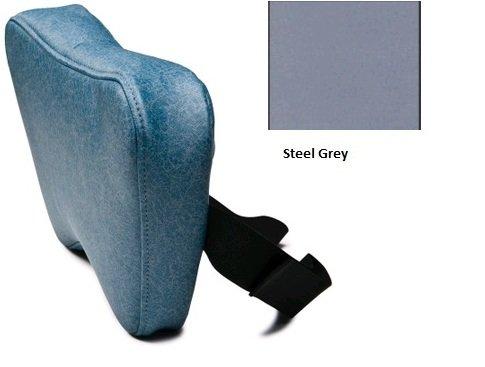 Lumex FR56599764US Universal Pillow/Headrest, Steel Grey