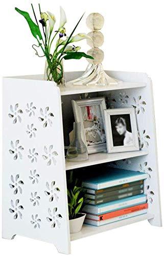 WGZ- Bathroom Waterproof Shelf Balcony Floor Succulent Flower Pot Rack Bedroom Bedside Table Bookshelf Living Room…