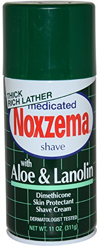 Medicated Shave Cream - Men Noxzema Medicated Shave Cream W/ Aloe And Lanolin Shave Cream 11 Oz - Noxzema Medicated Shave Cream W/ Aloe And Lanolin Shave Cream 11 Oz.Medicated Shave Cream With Aloe And Lanolin Was Launched