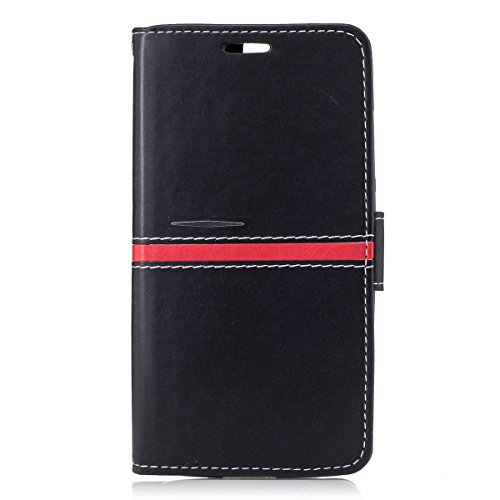 Elephone P8000 Case,Elephone P8000 Case,Phone case Premium PU Leather Wallet Snap Case Phone case Phone case Flip Case Compatible with Elephone P8000 Black