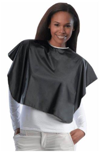 Diane Salon Elements Fromm Shortie Vinyl Cape (Black) from Diane