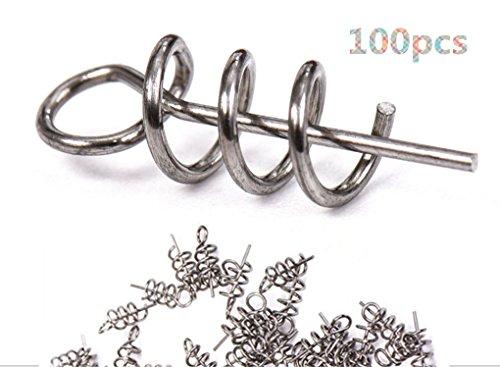 (Toasis Fishing Centering Pin Spring Twist Lock Pack of 100pcs )
