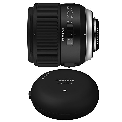Tamron SP 35mm f/1.8 Di VC USD Lens and TAP-In-Console for N