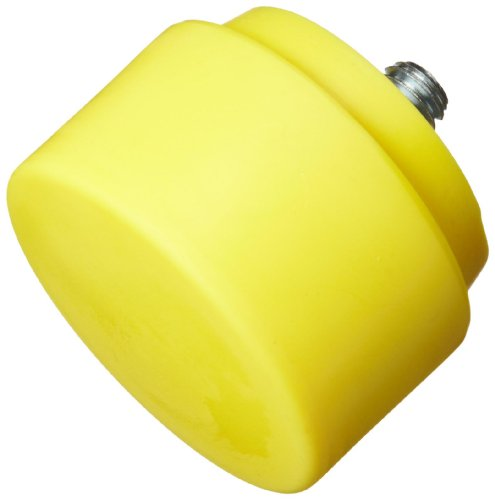 (Nupla 15209 Extra Hard Face QC Replaceable Tip for Impax Dead Blow and Quick Change Hammers, Yellow, 2
