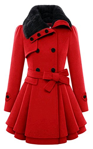 all Coat Rote 5 large Xx Women's qgnET