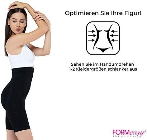 FORMeasy Seamless Shapewear Hi-Waist Long Leg Shaper,Thigh Slimmer,Tummy Control