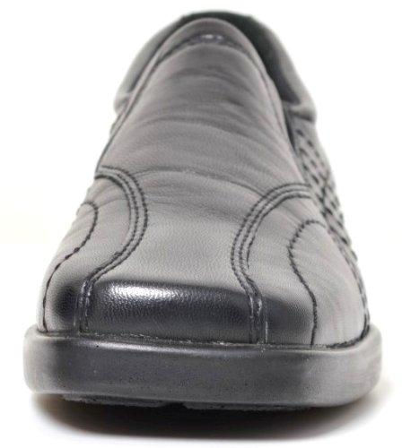 Smile Leather Shoes IM127 Nil Black X7qdxS8