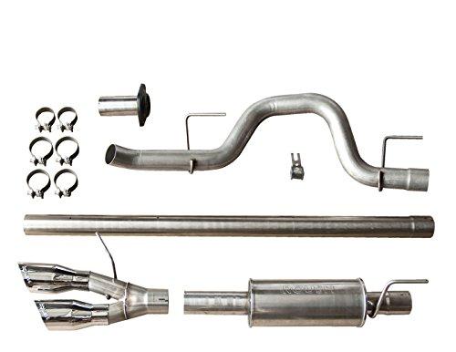 Roush F150 Exhaust - Roush 421711 F-150 Cat-Back Exhaust for 6.2L/5.0L/3.5L (2011-2014) Side Exit