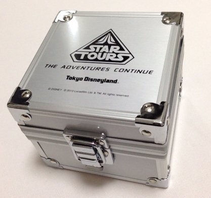 Disney Resort Star Wars ☆ Star Tours: The Adventure Kontenyu ☆ Renewal Memorial Star Tours limited watch [Disneyland limited] STARWARS x (Disney Memorial)