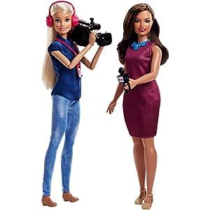 41%2BPZAWq58L. SS300  - Barbie TV News Team Doll
