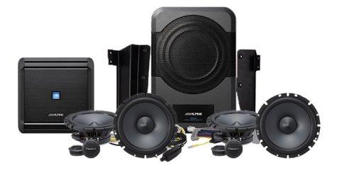 Alpine Electronics PSS-21WRA Direct Fit Sound System