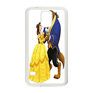 High Quality Phone Back Case Pattern Design 4Beauty And The Beast Pattern- For Samsung Galaxy S5