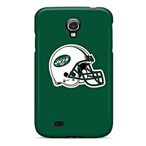 High Quality Shock Absorbing Case For Galaxy S4-new York Jets 3