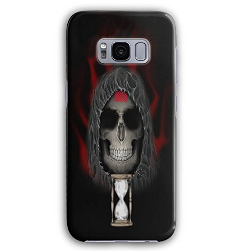 Clock Metal Death Skull Dead Scary 3D Samsung Galaxy S8 Case | Wellcoda (Father Time Sundial)